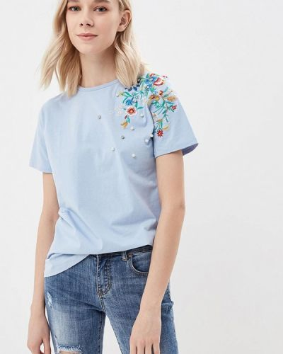 Голубая футболка Blue Oltre
