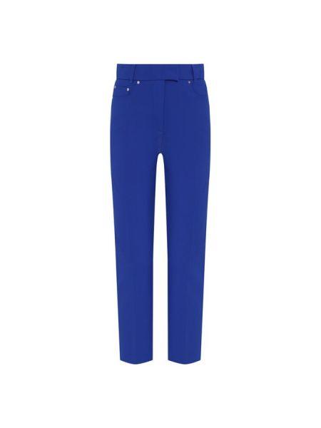 Синие брюки из вискозы с подкладкой Filles A Papa
