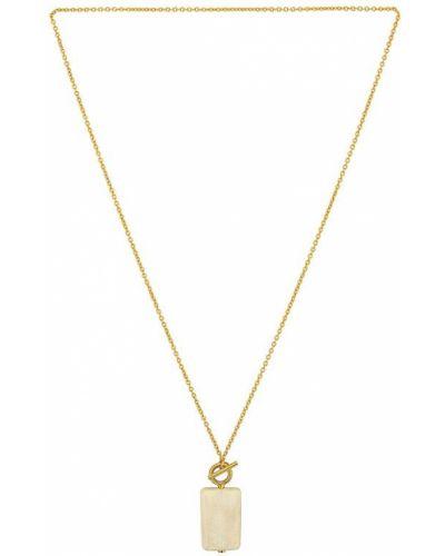 Biały złoty medalion Soko
