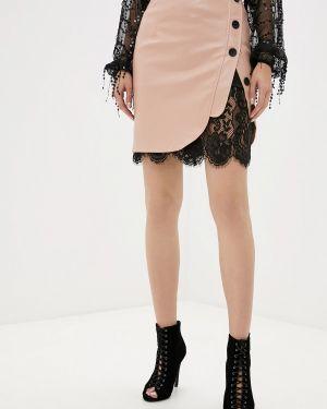 Платье осеннее бежевое Gepur