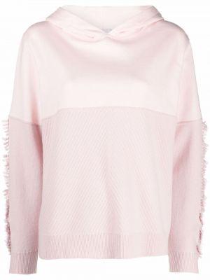 Różowy z kaszmiru sweter Barrie