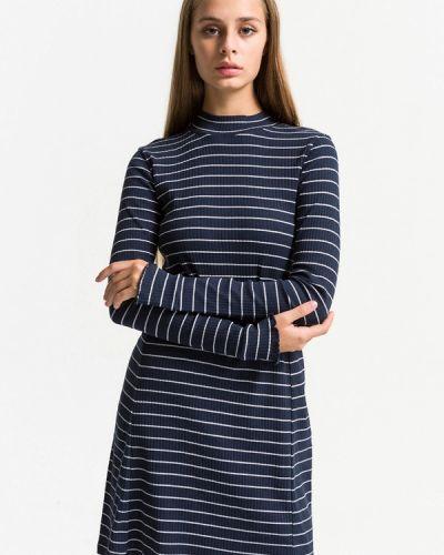 Платье - синее Ltb
