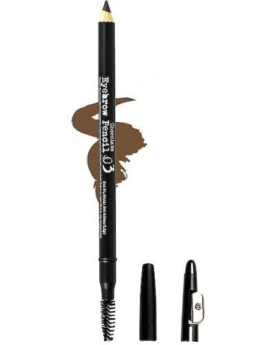 Brązowy wodoodporny ołówek do ust The Browgal
