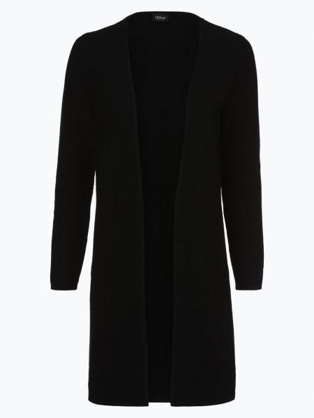 Czarny garnitur dzianinowy S.oliver Black Label