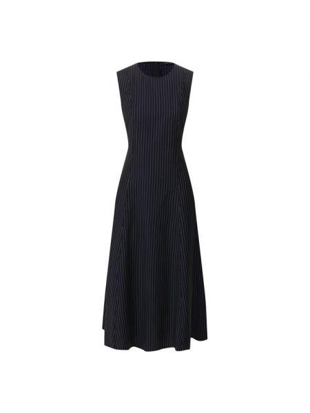 Вечернее платье деловое синее Polo Ralph Lauren