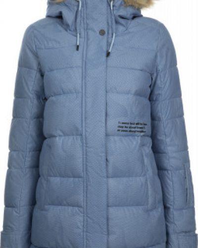 Акриловая теплая свободная куртка с капюшоном свободного кроя Termit
