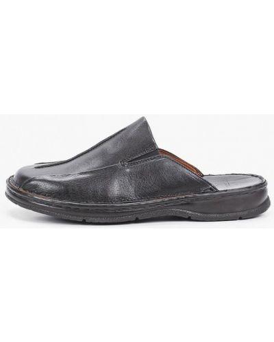 Черные кожаные сандалии Beppi