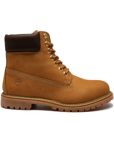 Желтые ботинки Lumberjack