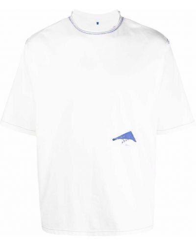 T-shirt bawełniana - biała Ader Error
