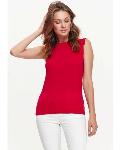 Красная блузка Top Secret