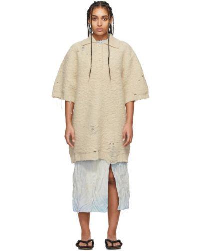 Платье вязаное с воротником Acne Studios