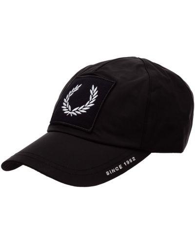 Czarny kapelusz Fred Perry