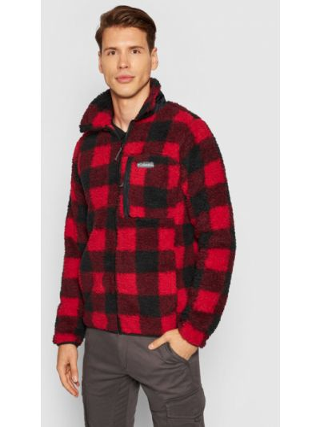 Czerwona bluza polarowa Columbia