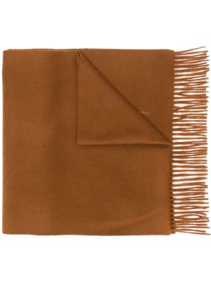 Кашемировый шарф - коричневый Mackintosh