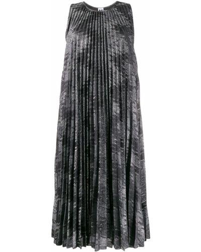 Платье миди плиссированное с вырезом M Missoni