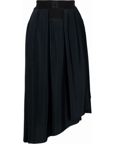 Spódnica plisowana - czarna Givenchy