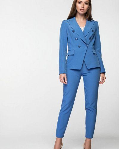 Брючный костюм 2019 голубой Itelle