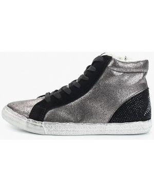 Замшевые туфли серебряный Ideal Shoes®