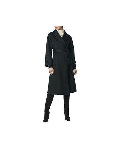 Шерстяное пальто - черное Luisa Spagnoli