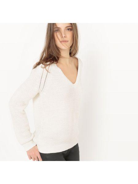 Пуловер с V-образным вырезом прямой La Redoute Collections