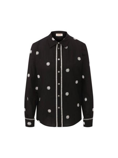 Хлопковая рубашка - черная Paul&joe