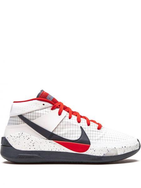 Белый кружевной топ круглый Nike