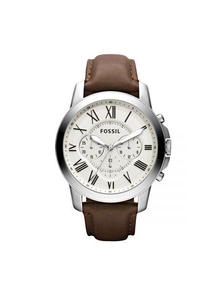 Zegarek zabytkowe szary Fossil