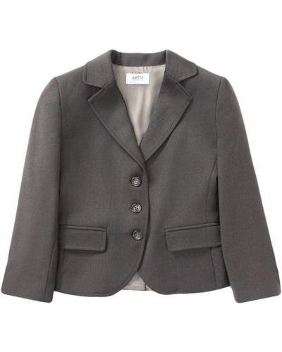 Пиджак серый из вискозы Aletta