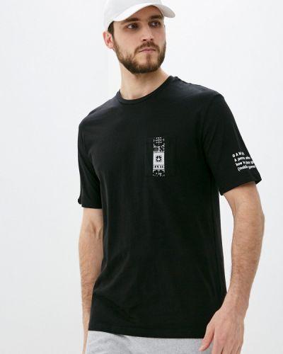 Черная футболка с короткими рукавами Begood