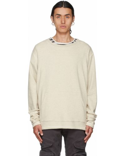 Biała bluza bawełniana Greg Lauren