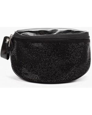 Кожаная сумка поясная велюровая Malvinas