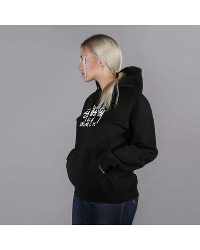 Черный свитер Stussy