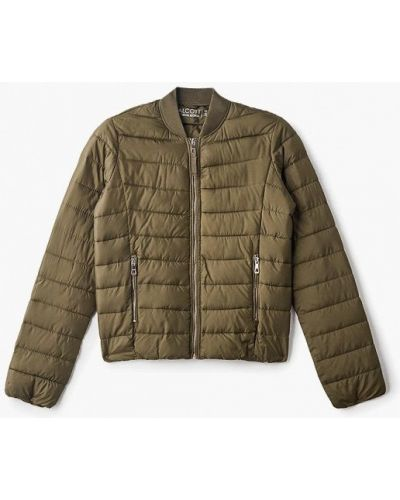 Утепленная куртка - зеленая Alcott