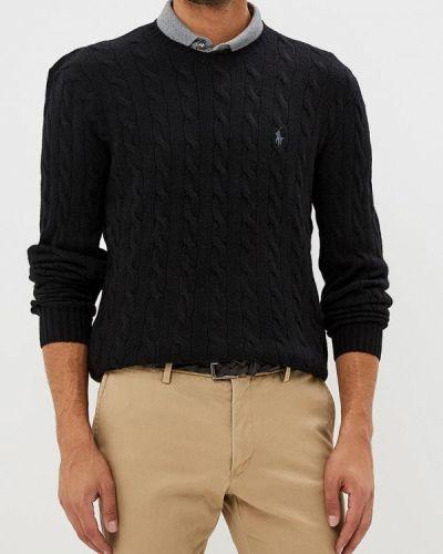 Черный джемпер осенний Polo Ralph Lauren