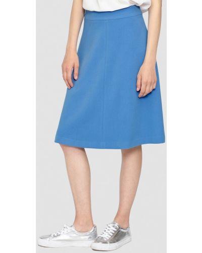 Синяя юбка осенняя Dolcedonna