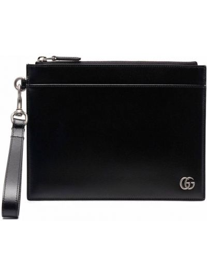 Torebka srebrna - czarna Gucci