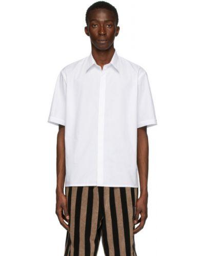 Koszula krótkie z krótkim rękawem z kołnierzem z mankietami Fendi
