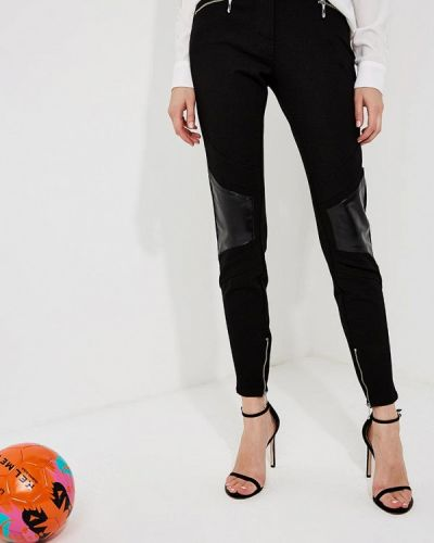 Черные зауженные брюки Just Cavalli