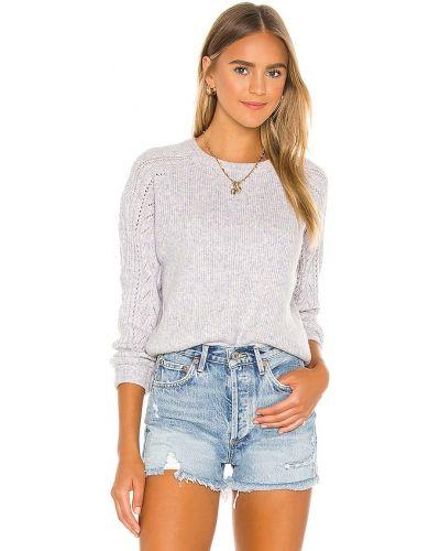 Шерстяной свитер - фиолетовый Heartloom