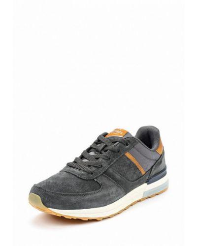 Серые замшевые кроссовки Strobbs