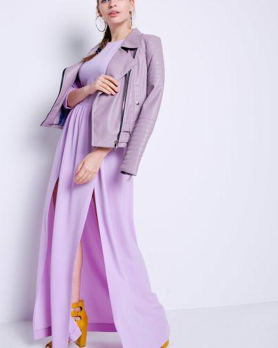 Платье макси длинное - фиолетовое Grandua