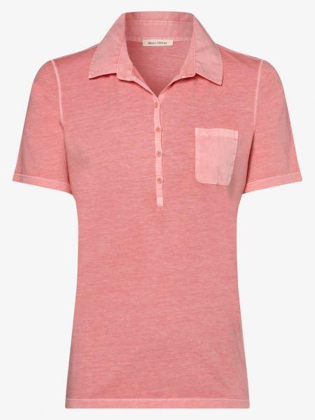 Klasyczny pomarańczowy t-shirt Marc O'polo