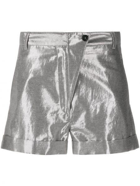 С завышенной талией шорты с карманами с отворотом Ann Demeulemeester