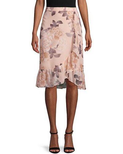 Spódnica maxi kaskadowa Calvin Klein