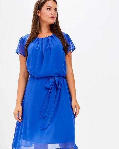 Платье осеннее синее Dorothy Perkins Curve