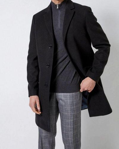 Пальто черное Burton Menswear London