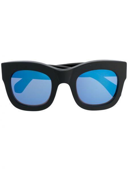 Czarne okulary oversize Illesteva