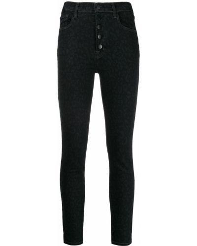 Джинсы-скинни mom с накладными карманами J Brand