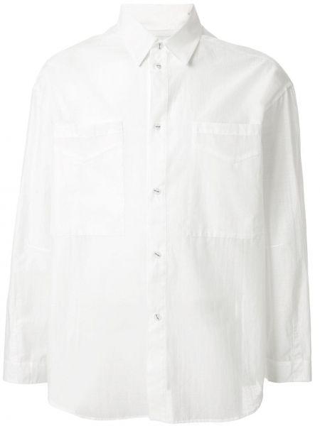 Свободная классическая рубашка на пуговицах Yoshiokubo