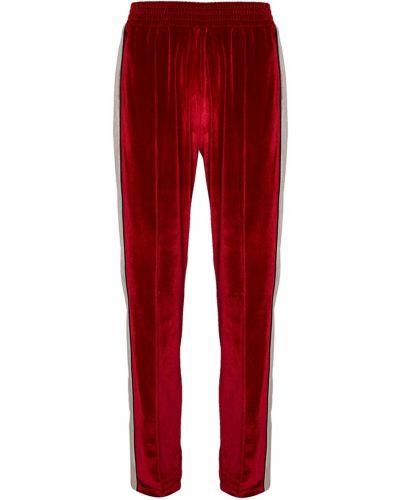 Брюки на резинке - красные Forte Couture